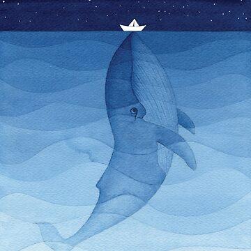Blauwal, Meerestiere von VApinx