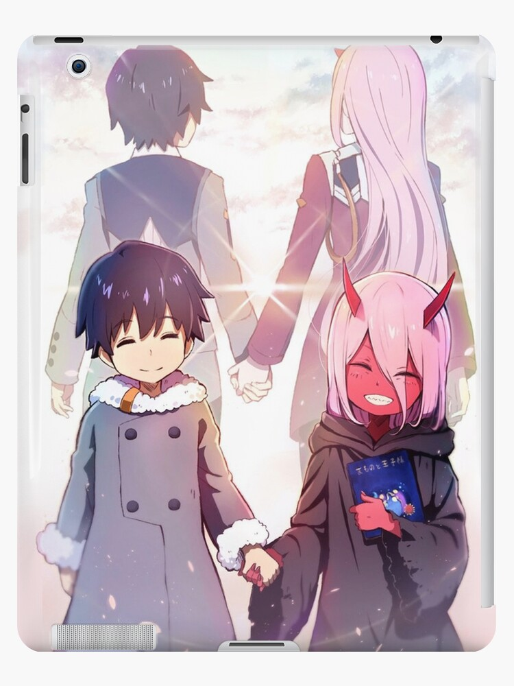 Darling In The Franxx Hiro And Zero Two Ipad Case Skin By Nmarryat Redbubble