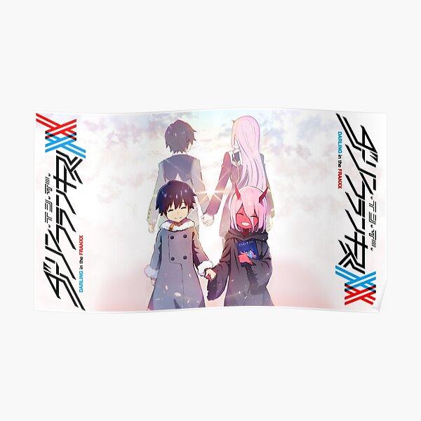 Darling In The Franxx - Hiro et Zero Two Poster