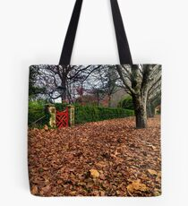 The Red Gate | Autumn Mt Mount Wilson | NSW | The Blue Mountains Tote Bag