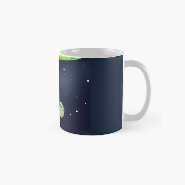Rick And Morty Space Travel Classic Mug