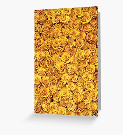 Say it with roses Greeting Card