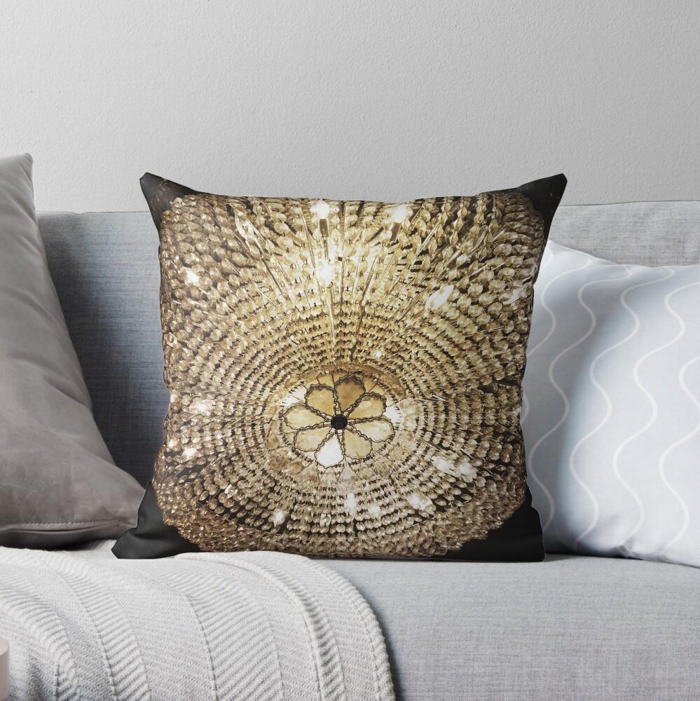 Gift for Interior Designer - Chandelier Throw Pillow