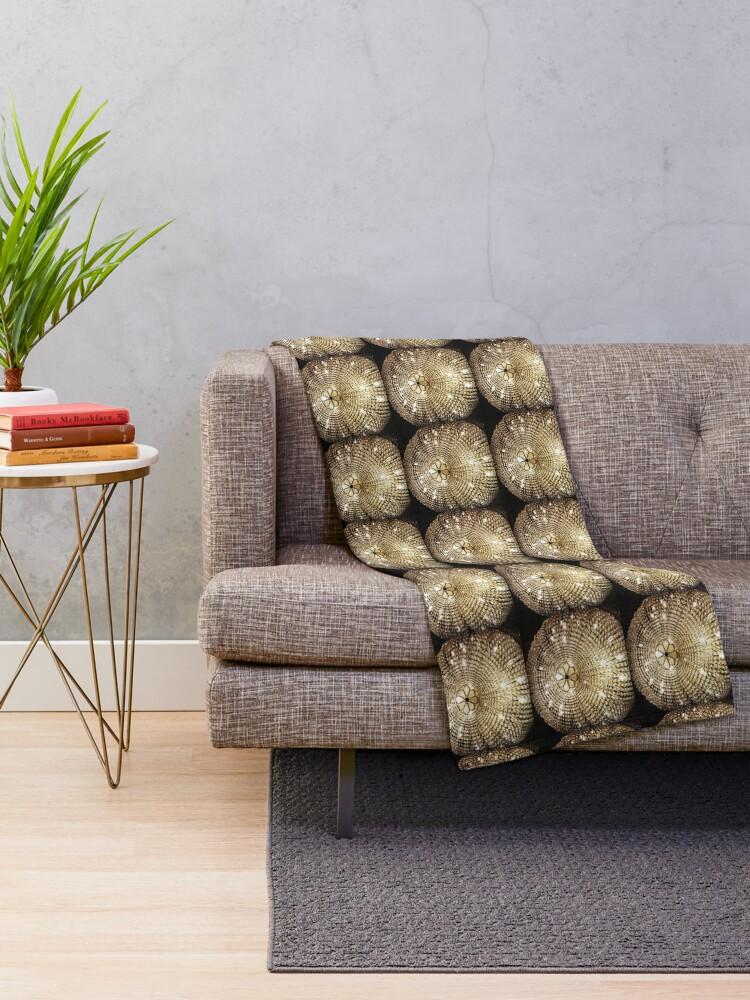 Alternate view of Gift for Interior Designer - Chandelier - Fashion Present Throw Blanket