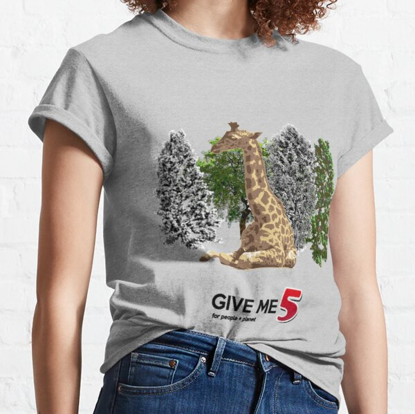 Let's save the giraffe Classic T-Shirt