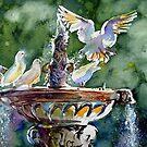 Spanish Fountain by Shirlroma