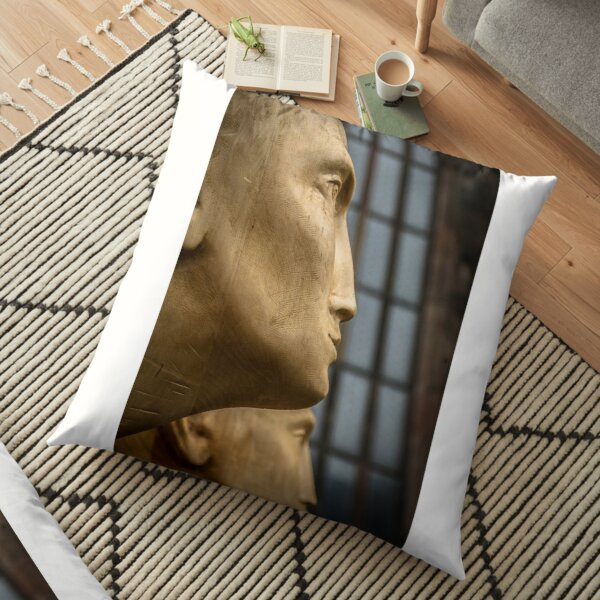 modern sculpture Floor Pillow