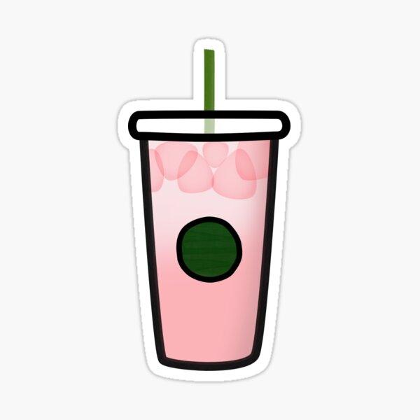Pink Drink Sticker