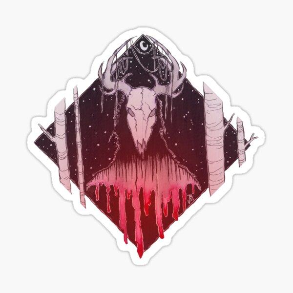 The Wendigo Sticker