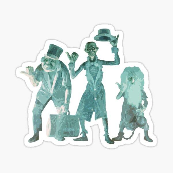 Hitchhiking Ghosts Sticker
