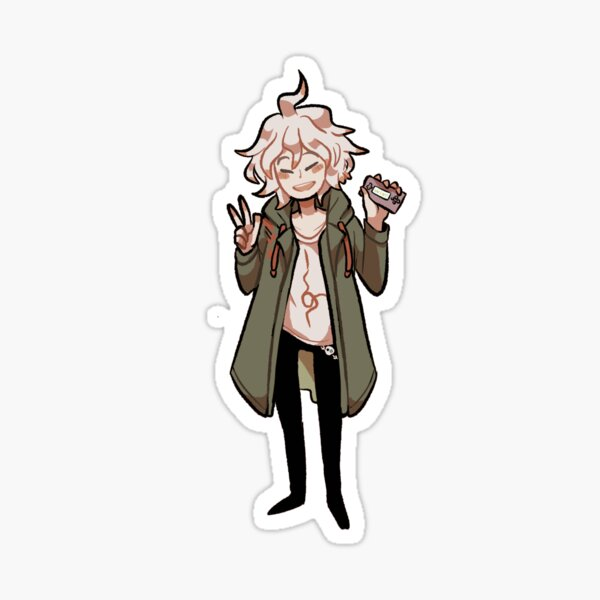 Nagito Komaeda wins sticker Sticker