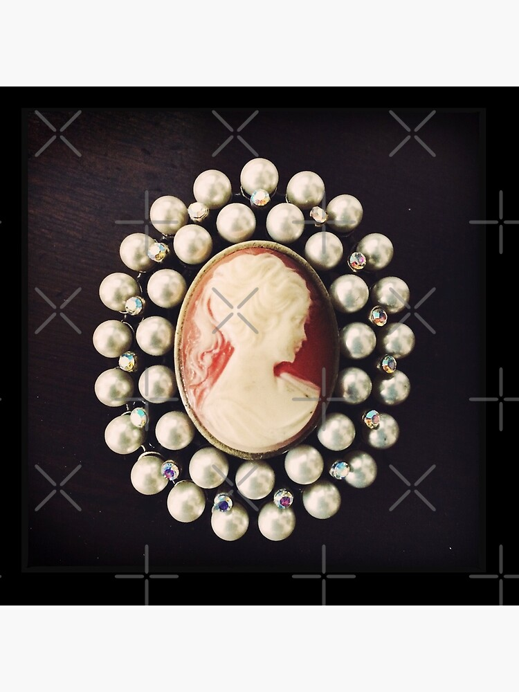 Classic Vintage Cameo - Art Photo  by OneDayArt