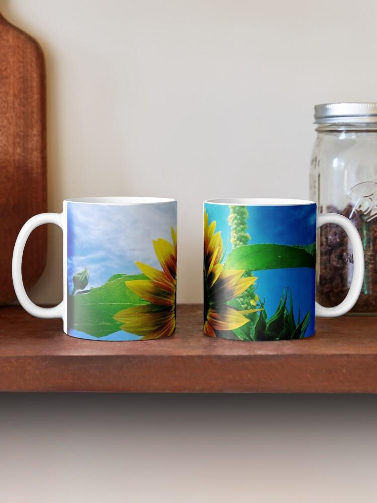 Alternate view of Sunflower Lover - Sunflower Art Photography Mug
