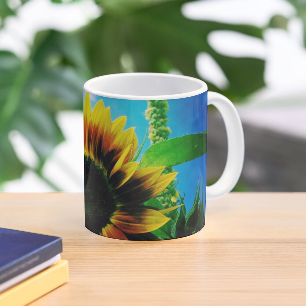 Sunflower Lover - Sunflower Art Photography Mug