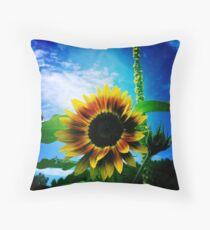 Sunflower Lover - Sunflower Art Photography Throw Pillow