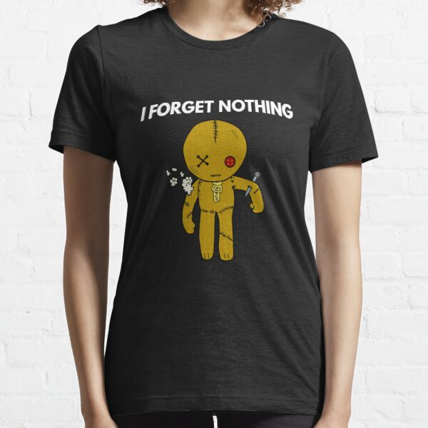 I forget nothing Voodoo Puppe Essential T-Shirt