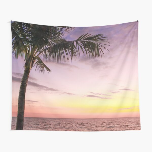 Palm in Paradise Tapestry
