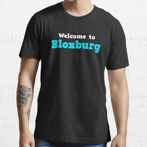 Bienvenido a Bloxburg - Roblox Camiseta esencial
