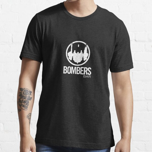 Bomber's Bar Distressed (Small Version) Essential T-Shirt