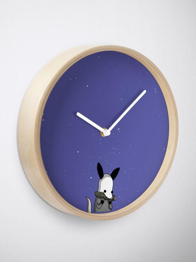 Alternate view of Midnight Posso - Tiny Snek Comics Clock