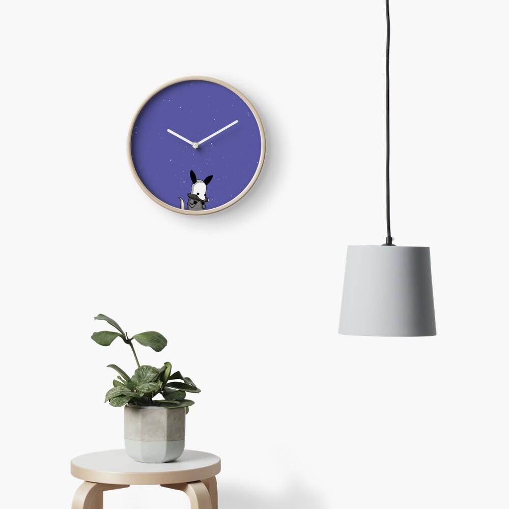 Midnight Posso - Tiny Snek Comics Clock