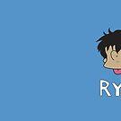 Ryo Saeba Mug by PseudoL