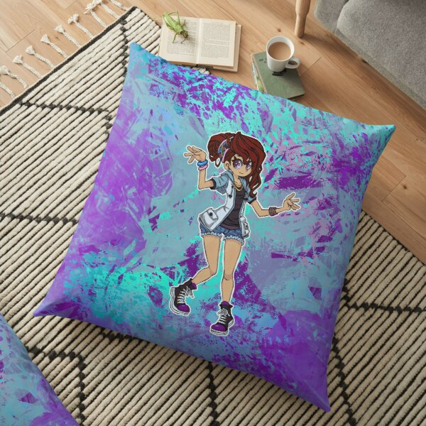 Shadows of the Ecliptic ANNI GIRL - Original Character  Floor Pillow