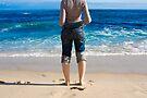 Blue Beach at Rye by Philip Werner