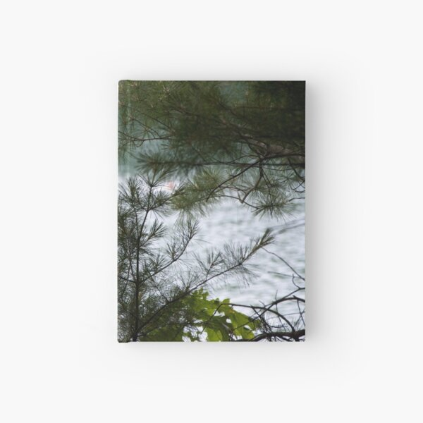 Walden Pond from the Woods Hardcover Journal