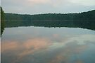 Dawn at Walden Pond 2 by Jack Bridges