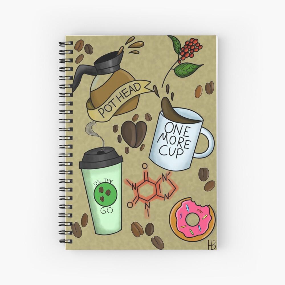 Coffee Fiend Flash Sheet Spiralblock