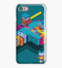 F graphics pattern iPhone Case/Skin