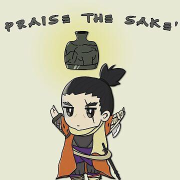 Sekiro shadows die twice Praise the sakè by moonfist