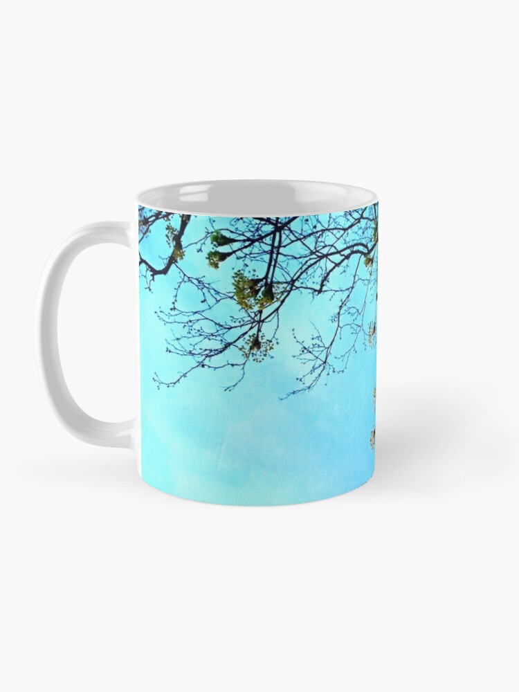 Alternate view of Gift for Nature Lovers - Spring blooms at dusk Mug