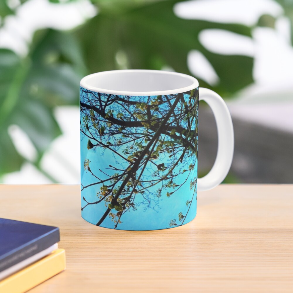 Gift for Nature Lovers - Spring blooms at dusk Mug