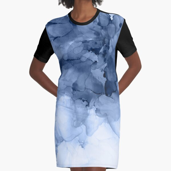 Stormy Weather Graphic T-Shirt Dress