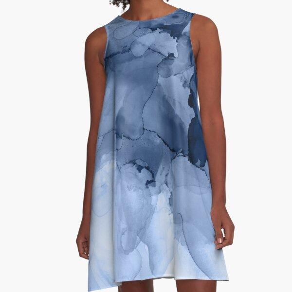 Stormy Weather A-Line Dress