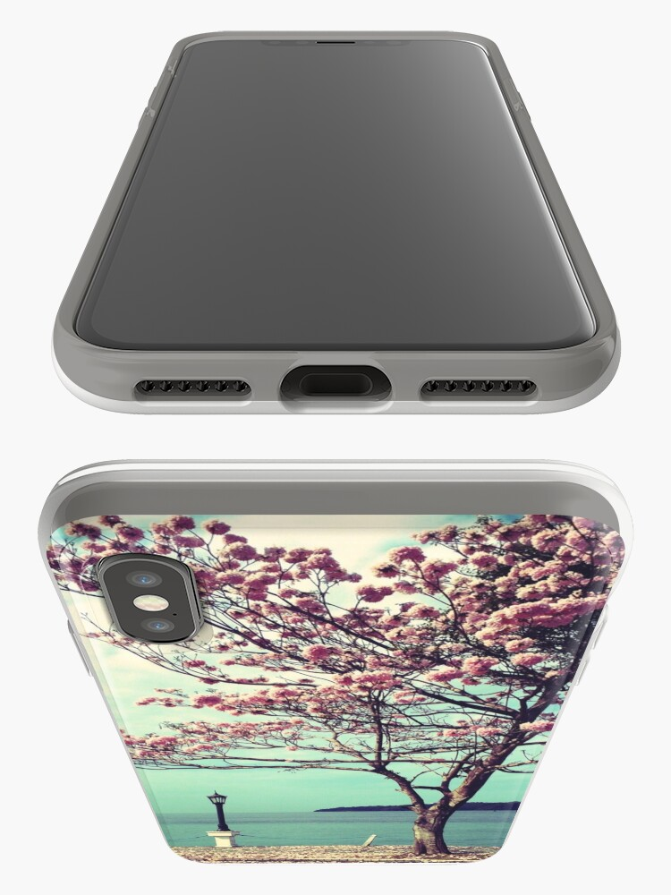 Alternate view of Blooms by the Sea - Panama Landscape  iPhone Case & Cover