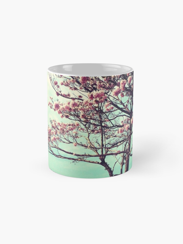 Alternate view of Blooms by the Sea - Panama Landscape  Mug