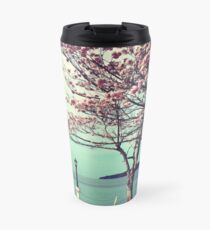 Blooms by the Sea - Panama Landscape  Travel Mug