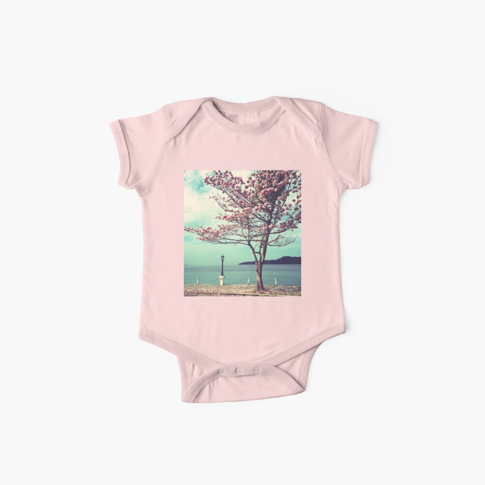 Blooms by the Sea - Panama Landscape  Baby One-Piece