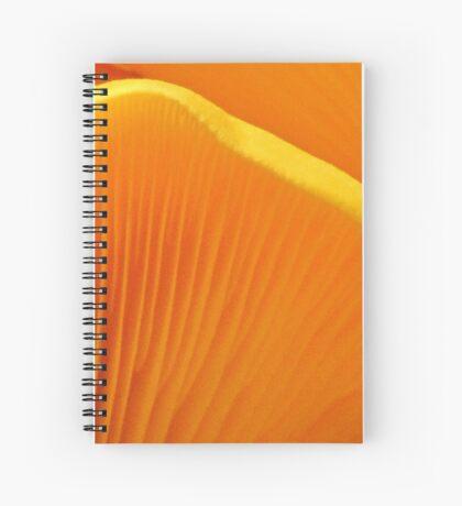 Golden Gills Spiral Notebook