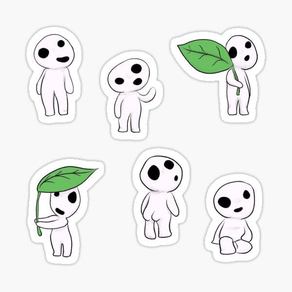 Esprits de l'arbre Kodama Sticker