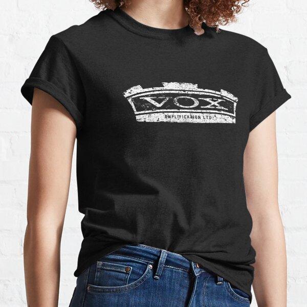 Vox Amplifier-Eroded Badge-Amp-Rock,Blues,Pop,Metal  Classic T-Shirt
