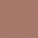 «Patrón ondulado uniforme de onda 6 Sherwin Williams Cavern Clay SW 7701 y Pizarra Violeta Gris SW9155» de PIPAArtHomeDeco