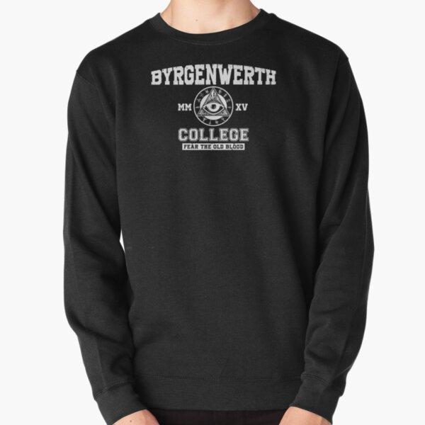 Collège Byrgenwerth (texte blanc) Sweatshirt épais