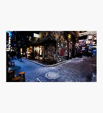 Centre Place, Melbourne Photographic Print