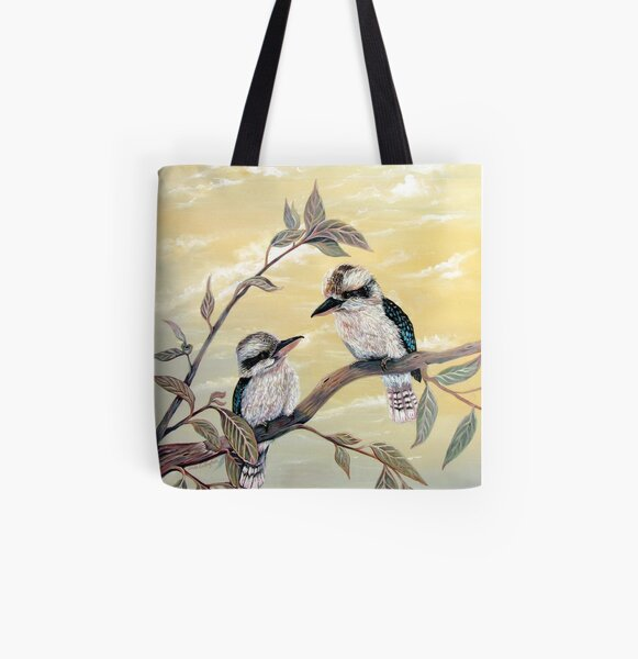 Kookaburra Magic All Over Print Tote Bag
