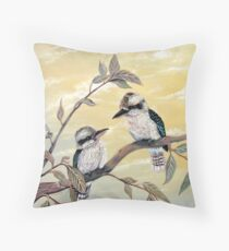 Kookaburra Magic Throw Pillow