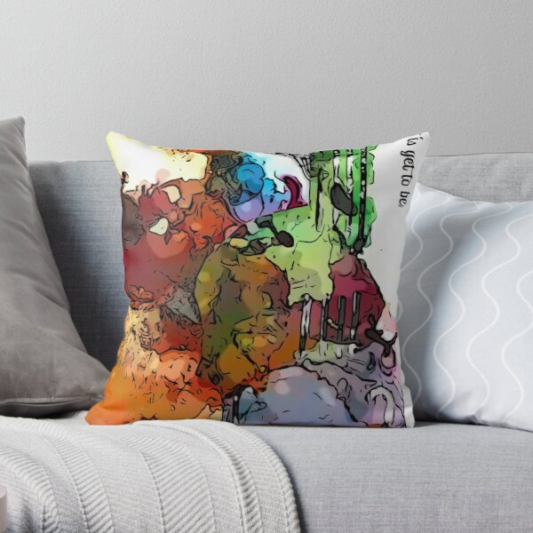 Violin The Best Is Yet To Be Throw Pillow